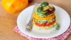 Try this gluten-free recipe for Rainbow Lasagne with Heirloom Tomatoes, Mushrooms, and Castelvetrano Olives.