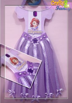 Hairbow Holder - Sofia the first https://www.facebook.com/craftyandfancy