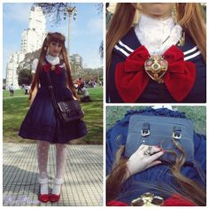 Noblesse Oblige ♔: Halloween!: Zombie Walk Buenos Aires 2013 ♥Sailor Moon Inspired outfit♥