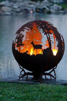 【画像】焚き火の風景を置いておきます。
