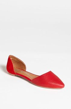 adorable red flats