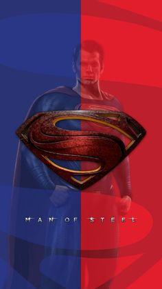Man Of Steel / Superman wallpaper Arte Do Superman, Superman Artwork, Supergirl Superman, Superman Movies, Superman Logo, Batman And Superman, Superhero Movies, Spiderman, Cool Superman Wallpapers