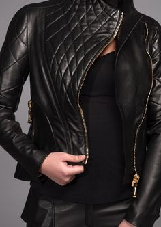 Daniele Bardis AW 13/14 collection (Torpedo jacket close up)