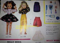 Catalogo Milly Z&Z 04 Vintage Barbie, Vintage Dolls, Doll Toys, Summer Dresses, Disney Princess, Disney Characters, Clothes, Fashion, High Fashion