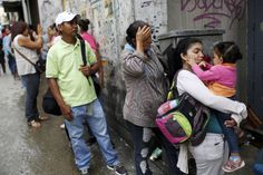 VENEZUELA -- Shortages of basic goods such as water, food, medicine, and electricity have lead to much social unr. World Economic Forum, Countries Of The World, Country, Medicine, Water, Food, Venezuela, Gripe Water, World Countries