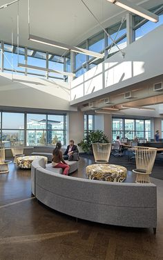 Fan Chairs  by Tom Dixon   Inside Zazzle's Sleek New Headquarters   Co.Design   business + design