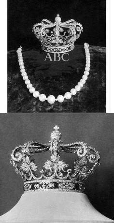 King Aalfonso XIII and Queen Ena of Spain Cartier crowns