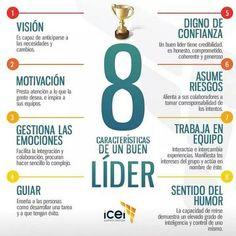 8 Caracteristicas de un buen lider