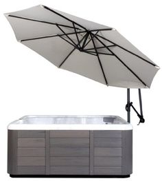 Outdoor Hot Tubs - Spa Side Umbrella Crme color * Click on the image for additional details. (This is an Amazon affiliate link)
