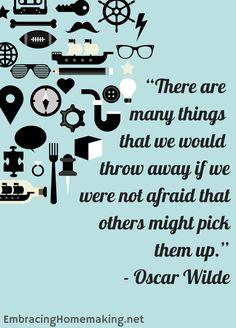 if we were not afraid