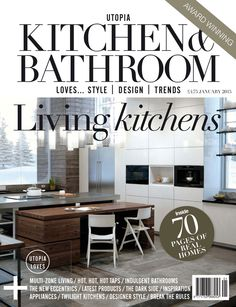The Jan 2015 Award Winning Utopia Kitchen U0026 Bathroom Is On SALE NOW.  Subscribe Today