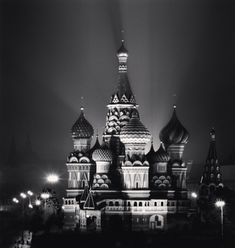 Michael Kenna St. Basil Cathedral, Moscow, Russia, 2008