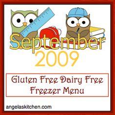 GFCF freezer meals  Chicken Marsala, Chicken and chilies, Pineapple pork chops