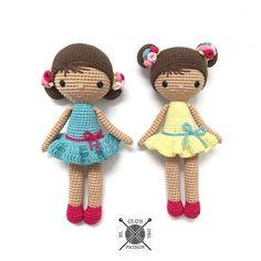 El blog de Dmc: El Club del Patrón: Muñeca Chloe por La Crocheteria