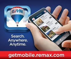 Search for homes with the Re/Max app