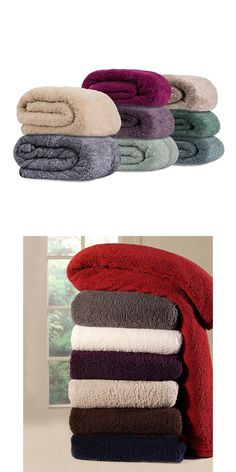 Blankets And Throws 175750: Nwt Members Mark Oversize Cuddly Cabin Throw  Soft Blanket High Pile