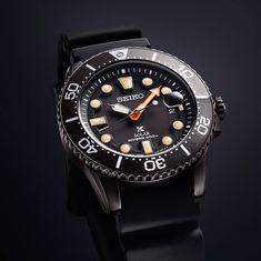 SEIKO Prospex Divers BLACK Series Solar Scuba Limited Edition