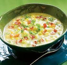 Corn Chowder (Crema de Elote)
