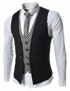 Great vest. Different yet classy. Would want a different shirt/tie I believe.