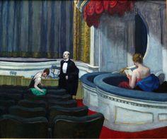 Edward Hopper | Two on the Aisle, 1927