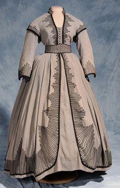 Walter Plunkett - Costumes - Robe Shanty Town Authentique (North Carolina Museum of History) - Vivien Leigh - Autant en emporte le Vent - 1939