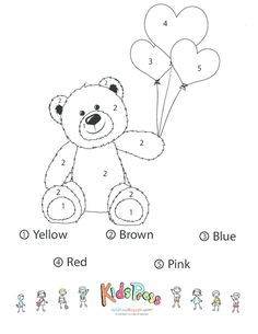 Teddy Bear Coloring Pages Teddy Bear Coloring Pages For Kids