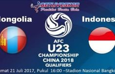 Prediksi Bola Mongolia vs Indonesia 21 Juli 2017