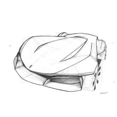 "Pedro Arturo Ruiz on Instagram: ""Study  #carsketch #sketch #rollerball #cardesign"""