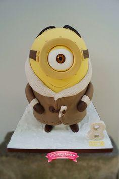 Minion Stuart great cake