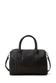 Studded Faux Leather Barrel Bag | FOREVER21 - 1000063429- Fashion Steal for the Alexander Wang Rocco handbag