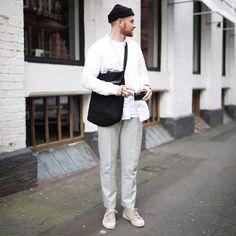 Monocle, novesta, apc, samsoesamsoe, scandi.  info@oliverhooson.com Instagram @olvh Menswear, street style, men with