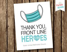 Personalized Notecards Stationary Essential Workers Hospital Stationery Thank You Note Thank You Card Thinking of You Front Line Hero