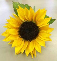 Alan Dunn Sugarcraft   sunflower