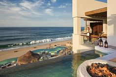 The Resort at Pedregal, Cabo San Lucas, MexicoEvery suite at this luxe retreat comes with a fireplace and double terraces with private heated plunge pools and ocean views. The resort, often ranked as the best in Mexico, sits on 24 pristine acres carved into an oceanside cliff. Though it's right near downtown Cabo, it feels incredibly secluded