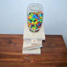 DIY Wood Mason Jar Candy Dispenser Kit Kids von CraftInnovation