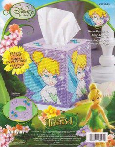 Tink Tissue Box Cover  1 of 5