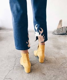 Collina Strada - Flame Pants | available at LCD