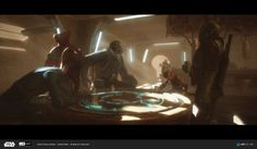 Nikolay Razuev's submission on ILM Art Department Challenge - The Job Star Wars Room, Star Wars Art, Decoracion Star Wars, Edge Of The Empire, Lucas Arts, Star Wars Characters Pictures, Star Wars Concept Art, Star Wars Droids, Concept Ships