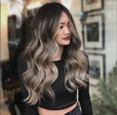 6 Great Balayage Short Hair Looks – Stylish Hairstyles Hair Color And Cut, Ombre Hair Color, Hair Color Balayage, Hair Highlights, Ash Blonde Balayage Dark, Hair Colors, Hair Color Ideas For Dark Hair, Ash Blonde Hair Balayage, Brown Highlights