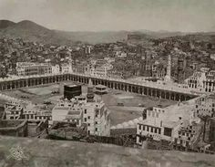 An Old Picture of Kaaba, 1917
