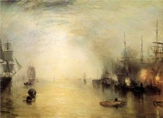 "William Turner ""Keelmen Heaving in Coals by Night"", 1835 (Great Britain, Romanticism, 19th cent.)"