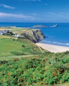 Swansea, Wales - MY DAUGHTER LIVED NEAR HERE FOR 2 years, she went to bible college in SWANSEA.