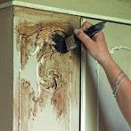 Excellent steps for using chalk paint, clear wax and dark wax to distress!