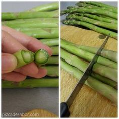 Halal Recipes, Vegan Recipes, Cooking Recipes, Le Chef, Vegan Vegetarian, Asparagus, Tapas, Side Dishes, Snacks