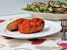 Braciole pugliesi al sugo – ricetta regionale #ricette #food #recipes