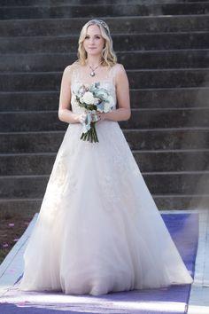 Caroline Forbes is so beautiful bride