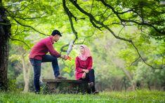 64 Foto PreWedding Muslim Outdoor Unik ~ Sealkazz Blog