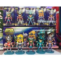 >> Click to Buy << 5PCS/Set Q Edition Saint Seiya PVC Action Figures 9CM High Anime Toys For Children Gifts Collections Displays with Color Box #Affiliate