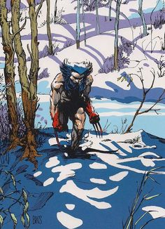 Wolverine - Barry Windsor Smith