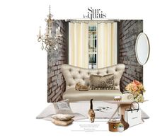 """Les Chats De Ville / The City Cats"" by halfmoonrun ❤ liked on Polyvore featuring interior, interiors, interior design, thuis, home decor, interior decorating, Martha Stewart, Matthew Hilton, Luigi Bormioli en Chanel"